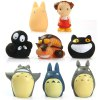 cheap Anime My Neighbor Totoro Characteristic Figure Model Finger Toy 8Pcs / Set