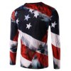 cheap 3D Graffiti Long Sleeve T Shirt