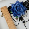 Noble Hollow Out Lace Flower Bracelet With Ring For Women photo