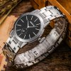 NEOS N40660M Sapphire Mirror Men Japan Quartz Watch photo