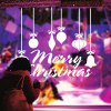 M-49 Merry Christmas Word Style Wall Stickers deal