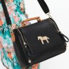 cheap Trendy Pony Pattern and Metal Design Women's Tote Bag