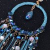 Pair of Classic Faux Crystal Tassels Earrings For Women photo