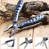 Ganzo G101-H Folding Pliers with 10pcs Screwdriver Bits