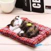 best Simulation Sleeping Cat Toy with Cloth Pad