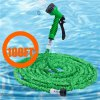 cheap 100FT Expandable Garden Water Hose Pipe with 7 in 1 Spray Gun