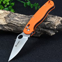 Ganzo G729-OR Axis Lock Folding Knife Pocket Clip