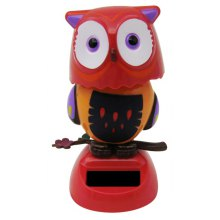 Solar Shaking Owl Environment-friendly Ornamentation
