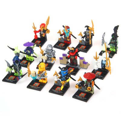 12Pcs ELEPHANT Tiny Building Block Ninjago with Black BaseMovies &amp; TV  Dolls<br>12Pcs ELEPHANT Tiny Building Block Ninjago with Black Base<br><br>Type: Building Blocks<br>Age: 3 Years+<br>Material: Plastic<br>Design Style: Figure Statue<br>Features: Educational<br>Puzzle Style: 3D Puzzle<br>Small Parts : Yes<br>Washing : Yes<br>Applicable gender: Unisex<br>Package Weight   : 0.65 kg<br>Package Size (L x W x H)  : 27 x 19 x 14 cm / 10.61 x 7.47 x 5.50 inches<br>Package Contents: 1 x Box - packed Block