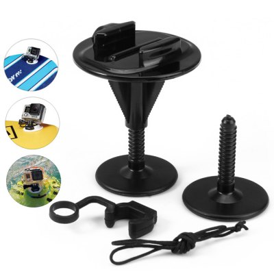 CP-GP001 Foam Surfboard Stand-Up Paddle Mountfor Action Camera