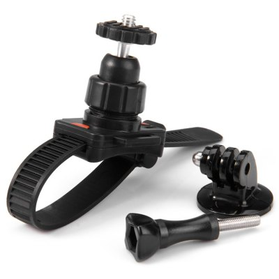 CP-GP169A 360 Degree Bike Motorcycle Handlebar Strap Mount for Action Camera