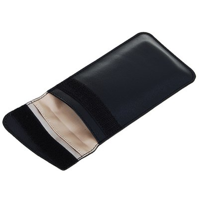 Mobile Phone Signal Shield Pouch for Phone Below 4.0 inchiPhone Cases/Covers<br>Mobile Phone Signal Shield Pouch for Phone Below 4.0 inch<br><br>Features: Signal Shielding<br>Material: PU Leather<br>Style: Solid Color<br>Color: Black, Red<br>Product weight: 0.025 kg<br>Package weight: 0.060 kg<br>Product size (L x W x H) : 14 x 8.5 x 0.5 cm / 5.50 x 3.34 x 0.20 inches<br>Package size (L x W x H): 19 x 13 x 19 cm / 7.47 x 5.11 x 7.47 inches<br>Package Contents: 1 ? Mobile Phone Bag