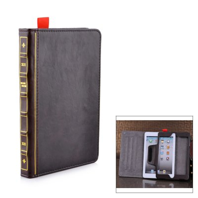 Book Style Protective Cover Case for iPad Mini