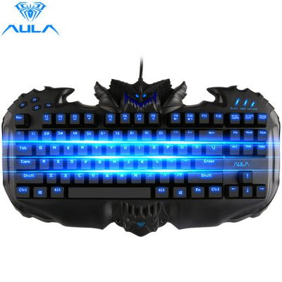 AULA Destroyer Mechanical Gaming Keyboard with Red Switches