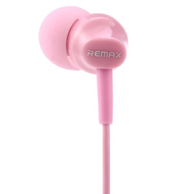 Original REMAX RM-501 In-ear Stereo Earphones with Microphone Support Handsfree Calls Function