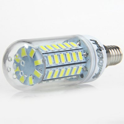 6 x YouOKLight 15W E14 1350Lm SMD 5730 LED Corn Lamp BulbLED Light Bulbs<br>6 x YouOKLight 15W E14 1350Lm SMD 5730 LED Corn Lamp Bulb<br><br>Brand : YouokLight<br>Base Type: E14<br>Type: Corn Bulbs<br>Output Power: 15W<br>Emitter Types: SMD 5730<br>Total Emitters: 56<br>Luminous Flux: 1350LM<br>CCT/Wavelength: 3000K, 6000K<br>Voltage (V): AC 110-120<br>Angle: 360 degree<br>Features: Low Power Consumption, Long Life Expectancy, 80% Brightness<br>Function: Studio and Exhibition Lighting, Home Lighting, Commercial Lighting<br>Available Light Color: Warm White, White<br>Sheathing Material: PC<br>Product Weight: 0.030 kg<br>Package Weight: 0.260 kg<br>Product Size (L x W x H): 9.5 x 3 x 3 cm / 3.73 x 1.18 x 1.18 inches<br>Package Size (L x W x H): 10.5 x 9.6 x 6.4 cm / 4.13 x 3.77 x 2.52 inches<br>Package Contents: 6 x YouOKLight LED Corn Light