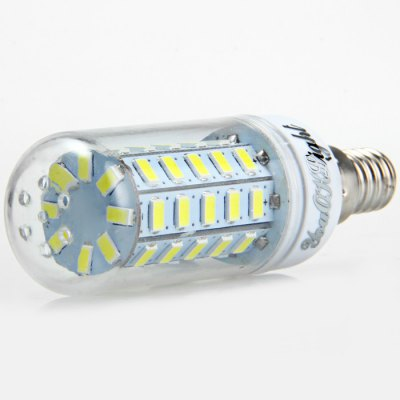 6pcs YouOKLight E14 SMD 5730 1000Lm 12W LED Corn Bulb LightLED Light Bulbs<br>6pcs YouOKLight E14 SMD 5730 1000Lm 12W LED Corn Bulb Light<br><br>Brand : YouokLight<br>Base Type: E14<br>Type: Corn Bulbs<br>Output Power: 12W<br>Emitter Types: SMD 5730<br>Total Emitters: 48<br>Luminous Flux: 1000LM<br>CCT/Wavelength: 3000K, 6000K<br>Voltage (V): AC 110-120<br>Angle: 360 degree<br>Features: Low Power Consumption, Long Life Expectancy, 80% Brightness<br>Function: Studio and Exhibition Lighting, Home Lighting, Commercial Lighting<br>Available Light Color: Warm White, White<br>Sheathing Material: PC<br>Product Weight: 0.030 kg<br>Package Weight: 0.266 kg<br>Product Size (L x W x H): 9 x 3 x 3 cm / 3.54 x 1.18 x 1.18 inches<br>Package Size (L x W x H): 10 x 9.6 x 6.4 cm / 3.93 x 3.77 x 2.52 inches<br>Package Contents: 6 x YouOKLight LED Corn Light