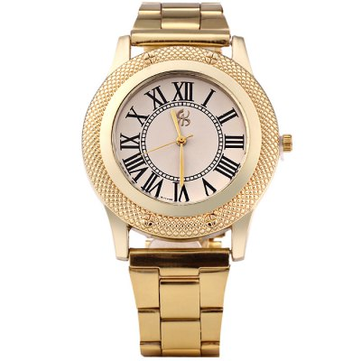golden-case-male-quartz-watch