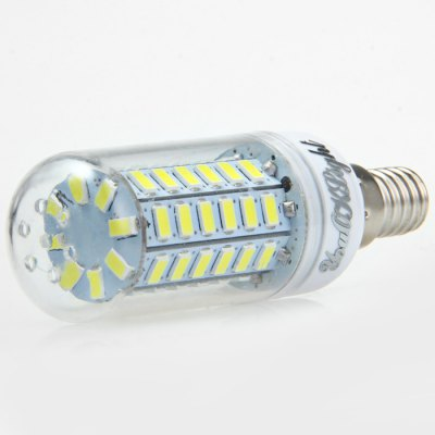 6PCS YouOKLight E14 15W SMD 5730 1350LM LED Corn LightLED Light Bulbs<br>6PCS YouOKLight E14 15W SMD 5730 1350LM LED Corn Light<br><br>Brand : YouokLight<br>Base Type: E14<br>Type: Corn Bulbs<br>Output Power: 15W<br>Emitter Types: SMD 5730<br>Total Emitters: 56<br>Luminous Flux: 1350LM<br>CCT/Wavelength: 3000K, 6000K<br>Voltage (V): AC 220-240<br>Angle: 360 degree<br>Features: Low Power Consumption, Long Life Expectancy, 80% Brightness<br>Function: Studio and Exhibition Lighting, Home Lighting, Commercial Lighting<br>Available Light Color: Warm White, White<br>Sheathing Material: PC<br>Product Weight: 0.030 kg<br>Package Weight: 0.260 kg<br>Product Size (L x W x H): 9.5 x 3 x 3 cm / 3.73 x 1.18 x 1.18 inches<br>Package Size (L x W x H): 10.5 x 9.6 x 6.4 cm / 4.13 x 3.77 x 2.52 inches<br>Package Contents: 6 x YouOKLight LED Corn Light