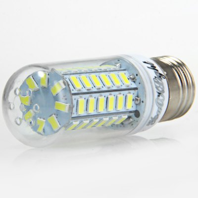6 x YouOKLight 15W E27 1350Lm SMD 5730 LED Corn Lamp BulbLED Light Bulbs<br>6 x YouOKLight 15W E27 1350Lm SMD 5730 LED Corn Lamp Bulb<br><br>Brand : YouokLight<br>Base Type: E27<br>Type: Corn Bulbs<br>Output Power: 15W<br>Emitter Types: SMD 5730<br>Total Emitters: 56<br>Luminous Flux: 1350LM<br>CCT/Wavelength: 3000K, 6000K<br>Voltage (V): AC 110-120<br>Angle: 360 degree<br>Features: 80% Brightness, Low Power Consumption, Long Life Expectancy<br>Function: Home Lighting, Commercial Lighting, Studio and Exhibition Lighting<br>Available Light Color: White, Warm White<br>Sheathing Material: PC<br>Product Weight: 0.032 kg<br>Package Weight: 0.266 kg<br>Product Size (L x W x H): 9.6 x 2.8 x 2.8 cm / 3.77 x 1.10 x 1.10 inches<br>Package Size (L x W x H): 10.6 x 9.6 x 6.4 cm / 4.17 x 3.77 x 2.52 inches<br>Package Contents: 6 x YouOKLight LED Corn Light