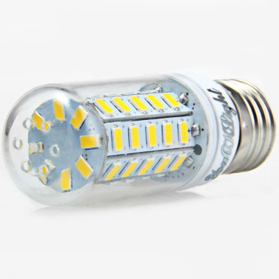 6 x YouOKLight 12W E27 1000Lm SMD 5730 LED Corn Lamp BulbLED Light Bulbs<br>6 x YouOKLight 12W E27 1000Lm SMD 5730 LED Corn Lamp Bulb<br><br>Brand : YouokLight<br>Base Type: E27<br>Type: Corn Bulbs<br>Output Power: 12W<br>Emitter Types: SMD 5730<br>Total Emitters: 48<br>Luminous Flux: 1000LM<br>CCT/Wavelength: 3000K, 6000K<br>Voltage (V): AC 110-120<br>Angle: 360 degree<br>Features: Low Power Consumption, Long Life Expectancy, 80% Brightness<br>Function: Home Lighting, Commercial Lighting, Studio and Exhibition Lighting<br>Available Light Color: Warm White, White<br>Sheathing Material: PC<br>Product Weight: 0.030 kg<br>Package Weight: 0.266 kg<br>Product Size (L x W x H): 9 x 3 x 3 cm / 3.54 x 1.18 x 1.18 inches<br>Package Size (L x W x H): 10 x 9.6 x 6.4 cm / 3.93 x 3.77 x 2.52 inches<br>Package Contents: 6 x YouOKLight LED Corn Light