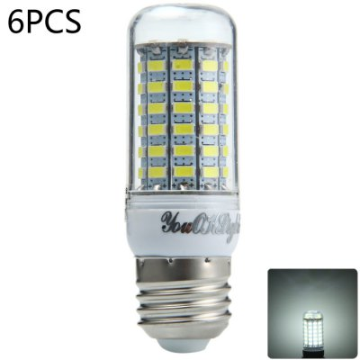 6 x YouOKLight 18W E27 1700Lm SMD 5730 LED Corn Lamp Bulb
