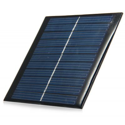 1W 5.5V Polycrystalline Silicon Solar Cell for DIY Charger
