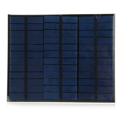 3.5W 18V Polycrystalline Silicon Solar Cell for DIY ChargerOther Camping Gadgets<br>3.5W 18V Polycrystalline Silicon Solar Cell for DIY Charger<br><br>Type: Other Camping Gear<br>Material: Polycrystalline Silicon<br>Color: Navy<br>Product weight   : 0.080 kg<br>Package weight   : 0.106 kg<br>Product size (L x W x H)   : 16.5 x 13.5 x 0.2 cm / 6.48 x 5.31 x 0.08 inches<br>Package size (L x W x H)  : 18.0 x 14.0 x 0.5 cm / 7.07 x 5.50 x 0.20 inches<br>Package Contents: 1 x 3.5W 18V Solar Cell