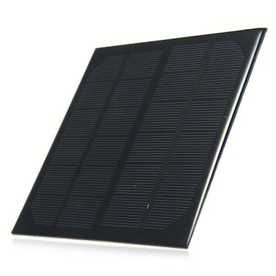 3W 6V Monocrystalline Silicon Solar Cell for DIY Charger
