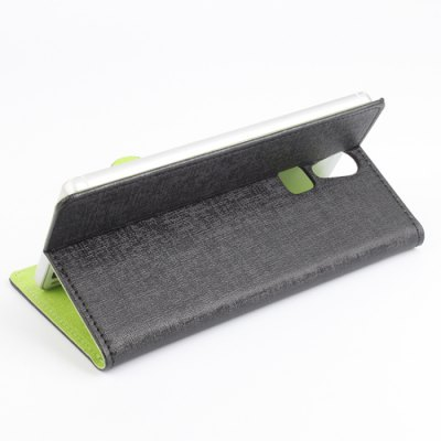 Фотография Delicate Pattern Design Leather Protective Cover Case Fitting for DOOGEE F5