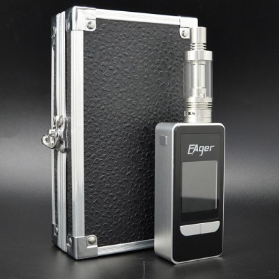 Puxiusi Eager 120W TC Box Mod Mario Clearomizer KitMod kits<br>Puxiusi Eager 120W TC Box Mod Mario Clearomizer Kit<br><br>Type: Mod Kit<br>Model : Puxiusi Eager<br>Available Color : Silver, Yellow, Pink<br>Material  : Glass, Stainless steel<br>Style  : Rechargeable<br>Variable voltage: Yes<br>Adjustable voltage range: 0.35-8.4V<br>Atomizer Type: Clearomizer, Tank Atomizer<br>Atomizer Capacity: 4.5ml<br>Mod Type: VV/VW Mod<br>Battery Form Factor: 18650<br>Charge way  : USB<br>Product weight  : 0.226 kg<br>Package weight  : 0.57 kg<br>Product size (L x W x H)  : 4.8 x 2.6 x 17.5 cm / 1.89 x 1.02 x 6.88 inches<br>Package size (L x W x H)  : 20 x 13 x 7 cm / 7.86 x 5.11 x 2.75 inches<br>Package contents: 1 x Puxiusi Eager 120W TC E-cigarette Kit, 1 x Mario Atomizer, 1 x 0.2ohm Coil, 1 x USB Cable, 1 x English User Manual