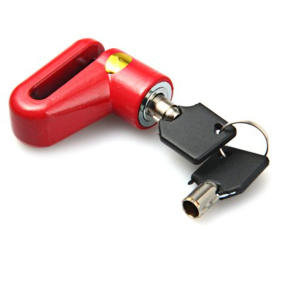 Small Size Bicycle Disc Brake Lock with 2 Keys