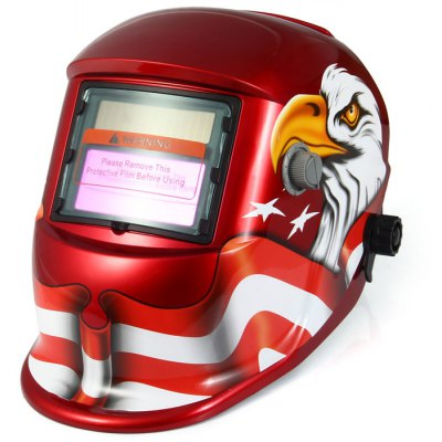 BLZY-107 Solar Powered Auto Darkening Welding Helmet