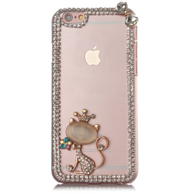 Diamond Protective Case for iPhone 6 6S / 6 Plus / 6S Plus Animal StyleiPhone Cases/Covers<br>Diamond Protective Case for iPhone 6 6S / 6 Plus / 6S Plus Animal Style<br><br>Compatible for Apple: iPhone 6S Plus, iPhone 6, iPhone 6 Plus, iPhone 6S<br>Features: Back Cover<br>Material: Plastic<br>Style: Diamond Look, Animal<br>Product weight : 0.050 kg<br>Package weight : 0.095 kg<br>Package size (L x W x H) : 17.5 x 11.5 x 2 cm / 6.88 x 4.52 x 0.79 inches<br>Package contents: 1 x Case