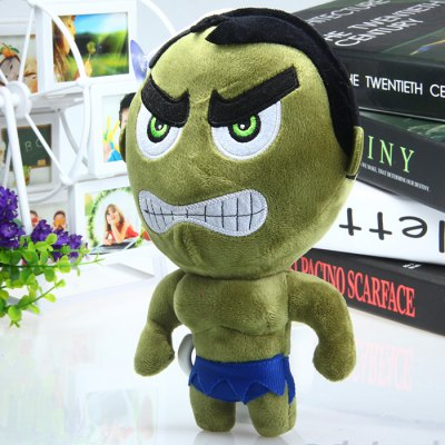 19cm The Avengers Series Cute Hulk Design Plush Doll Christmas GiftStuffed Cartoon Toys<br>19cm The Avengers Series Cute Hulk Design Plush Doll Christmas Gift<br><br>Material: Plush<br>Feature Type: European and American<br>Height: 19cm<br>Package Weight   : 0.119 kg<br>Package Size (L x W x H)  : 15 x 2 x 19 cm / 5.90 x 0.79 x 7.47 inches<br>Package Contents: 1 x Plush Doll