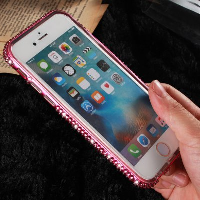 2 in 1 Diamond Protective Back Case for iPhone 6 / 6S / 6 Plus / 6S Plus