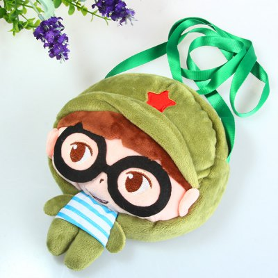 20cm Little Girl with Glasses Design Cute 3D Model Shoulder Plush Bag Toy Kids GiftStuffed Cartoon Toys<br>20cm Little Girl with Glasses Design Cute 3D Model Shoulder Plush Bag Toy Kids Gift<br><br>Material: Plush<br>Age: All Age<br>Height: 20 cm<br>Package Weight   : 0.082 kg<br>Package Size (L x W x H)  : 15 x 3 x 10 cm / 5.90 x 1.18 x 3.93 inches<br>Package Contents: 1 x Shoulder Plush Bag