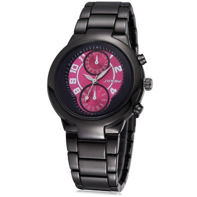 Sinobi 2670 Male Japan Quartz Watch with Luminous Pointers