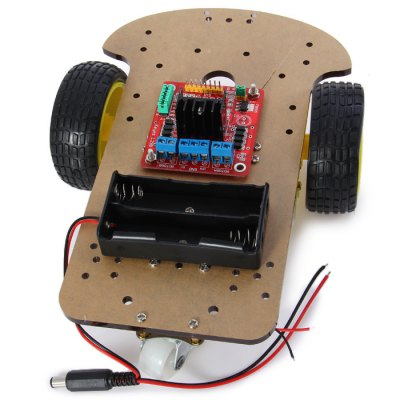 RT0003 Remote Ultrasonic Ranging Car Kit от GearBest.com INT