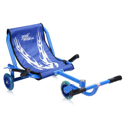 PAIXUAN Kids Tricycle Swing Scooter with 3 PU Wheel