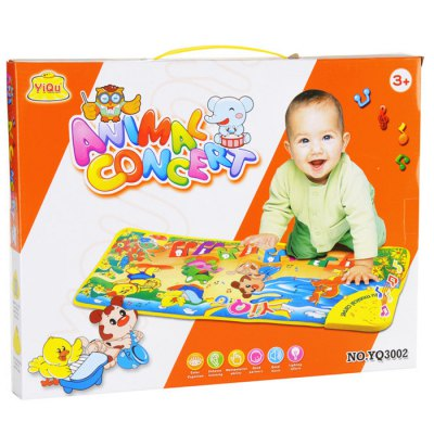 YIQU 3002 Animal Dancing Group Music Carpet for Improving Kid Creative Ability