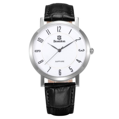 Bestdon BD98102G Sapphire Mirror Men Japan Quartz Watch - BestdonMens Watches<br>Bestdon BD98102G Sapphire Mirror Men Japan Quartz Watch<br><br>Brand: Bestdon<br>Watches categories: Male table<br>Watch style: Fashion<br>Available color: Black, Brown<br>Movement type: Quartz watch<br>Shape of the dial: Round<br>Surface material: Sapphire<br>Display type: Analog<br>Case material: Stainless steel<br>Band material: Genuine leather<br>Clasp type: Pin buckle<br>Water resistance: 50 meters<br>The dial thickness: 0.6 cm / 0.24 inches<br>The dial diameter: 4.0 cm / 1.57 inches<br>The band width: 1.8 cm / 0.71inches<br>Product weight: 0.045 kg<br>Package weight: 0.130 kg<br>Product size (L x W x H): 18.8 x 4 x 0.6 cm / 7.39 x 1.57 x 0.24 inches<br>Package size (L x W x H): 8.5 x 8 x 5 cm / 3.34 x 3.14 x 1.97 inches<br>Package contents: 1 x Bestdon BD98102G Watch