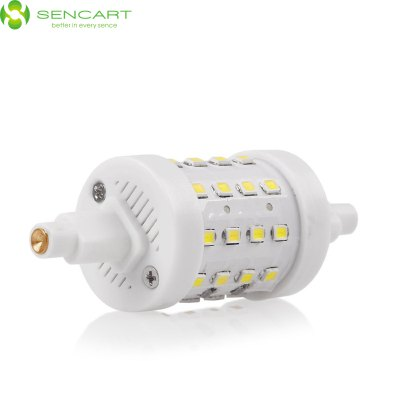 Sencart 8W R7S SMD 2835 800Lm Dimming LED Horizontal Plug LampLED Light Bulbs<br>Sencart 8W R7S SMD 2835 800Lm Dimming LED Horizontal Plug Lamp<br><br>Brand : Sencart<br>Holder: R7S<br>Type: Horizontal Plug Lamp<br>Output Power: 8W<br>Emitter Types: SMD 2835<br>Total Emitters: 36<br>Luminous Flux: 800Lm<br>CCT/Wavelength: 3000-3500K, 6000-6500K<br>Voltage (V): AC 85-265/50-60Hz<br>Angle: 360 degree<br>Lifespan: 50000h<br>Features: Dimmable, Energy Saving, Long Life Expectancy, 100% Brightness<br>Function: Commercial Lighting, Studio and Exhibition Lighting, Home Lighting<br>Available Light Color: Warm White, White<br>Product Weight: 0.036 kg<br>Package Weight: 0.065 kg<br>Product Size (L x W x H): 7.8 x 2.8 x 2.8 cm / 3.07 x 1.10 x 1.10 inches<br>Package Size (L x W x H): 9.5 x 4 x 4 cm / 3.73 x 1.57 x 1.57 inches<br>Package Contents: 1 x Sencart Horizontal Plug Light