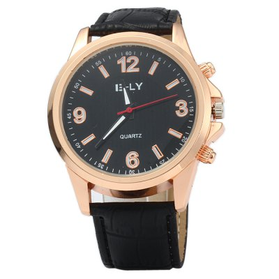 IE-LY Male Quartz Watch with Double Scales Leather BandMens Watches<br>IE-LY Male Quartz Watch with Double Scales Leather Band<br><br>Brand: IE-LY<br>Watches categories: Male table<br>Watch style: Business<br>Available color: Red, Deep Brown, Brown, Black, White<br>Movement type: Quartz watch<br>Shape of the dial: Round<br>Display type: Analog<br>Case material: Stainless steel<br>Band material: Leather<br>Clasp type: Pin buckle<br>The dial thickness: 1.0 cm / 0.39 inches<br>The dial diameter: 4.3 cm / 1.69 inches<br>The band width: 2.0 cm / 0.79 inches<br>Wearable length: 17.5 - 22 cm / 6.89 - 8.66 inches<br>Product weight: 0.042 kg<br>Package weight: 0.092 kg<br>Product size (L x W x H): 25 x 4.3 x 1 cm / 9.83 x 1.69 x 0.39 inches<br>Package size (L x W x H): 26 x 5.3 x 2 cm / 10.22 x 2.08 x 0.79 inches<br>Package contents: 1 x IE-LY Watch