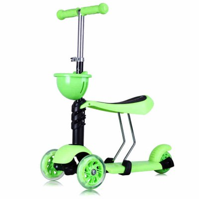 Hanchi Three Wheels Frog Style Kids Kick Scooter
