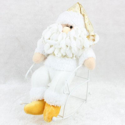 Christmas Santa Claus Toy with Chair DecorsChristmas Supplies<br>Christmas Santa Claus Toy with Chair Decors<br><br>Type: Christmas Santa Claus Style Doll with Seat<br>Material: Flannel, Metal<br>For: All<br>Usage: New Year, Stage, Wedding, Performance, Party, Valentine Gift, Birthday, Christmas<br>Product weight: 0.200 kg<br>Package weight : 0.240 kg<br>Product size (L x W x H) : 18 x 27.5 x 27.5 cm / 7.07 x 10.81 x 10.81 inches<br>Package size (L x W x H): 20 x 30 x 20 cm / 7.86 x 11.79 x 7.86 inches<br>Package Contents: 1 x Christmas Santa Claus Style Doll, 1 x Seat