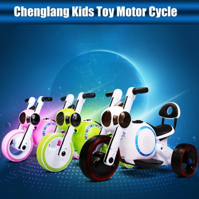 Chenglang Kids Toy Motorcycle with LED LampKick Scooter<br>Chenglang Kids Toy Motorcycle with LED Lamp<br><br>Brand: Chenglang<br>Maximum Payload: 30kg<br>Wheel Material: PU<br>Color: Green,Pink,White<br>Product weight: 6.000 kg<br>Package weight: 6.800 kg<br>Product size: 71.00 x 42.50 x 48.00 cm / 27.95 x 16.73 x 18.90 inches<br>Package size: 75.00 x 46.00 x 52.00 cm / 29.53 x 18.11 x 20.47 inches<br>Package Content: 1 x Chenglang Kids Toy Motorcycle, 1 x Chinese Plug Charger