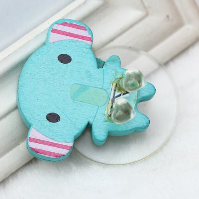 Small Elephant  Style Toothbrush Sucker Holder
