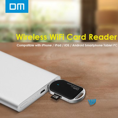 DM C1 WFD011 Wireless WiFi Card Reader for Smartphones Tablet PC