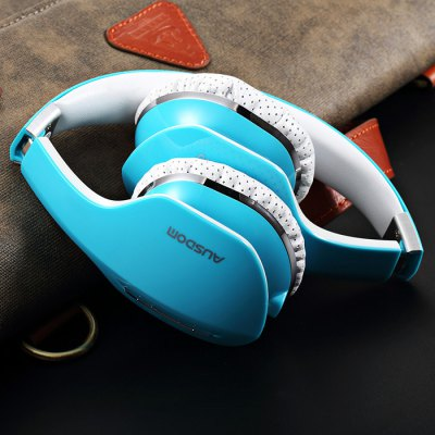 AUSDOM M07 Foldable Wireless Bluetooth 4.0 Headphone Stereo Headset